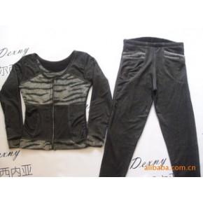 杜尔西内亚保暖塑身分体套装/长衣+长裤/内衣外穿