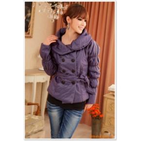 2011秋冬新款 韩版时尚棉衣气质棉袄外套
