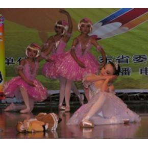 青岛暑假形体班价格 青岛暑假形体班培训课程 红舞裙