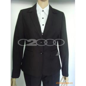 专业定做企业韩版西装 也可贴牌 专业生产和加工西装 企业行政服