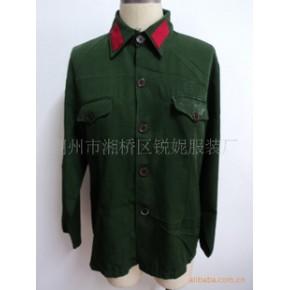 生产供应男女军装制服 订货