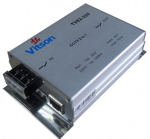 制作网络连接线与地线:根据电涌保护器和被保护