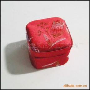 中式 古典织锦 戒指盒 结婚 精品盒 礼盒 可订做