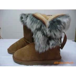 大量生产 加工 女侧毛雪地鞋