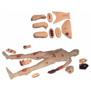 全功能创伤护理人 医学模型 护理人模型