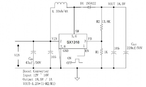产品供应 电子元件 集成电路(ic) 稳压ic 5v升12v 12v升16v 12v升19v