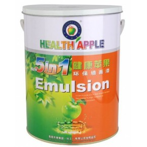涂料加盟|健康苹果漆|江门市苹果化工|乳胶墙厂家多功能五合一