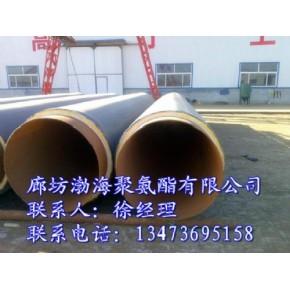 直埋热水聚氨酯保温管道,直埋热水管道保温施工