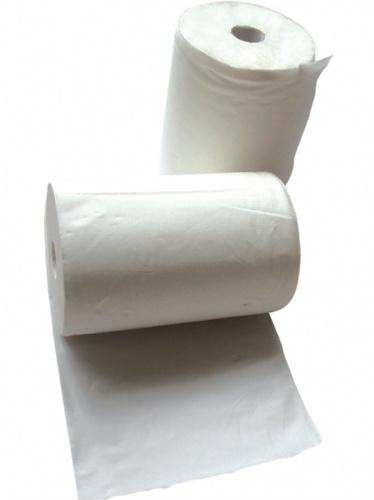 白色卷状工业擦拭纸