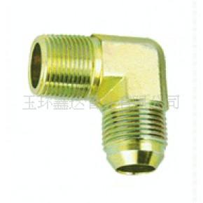 各类液压管接头 扩口式 三通