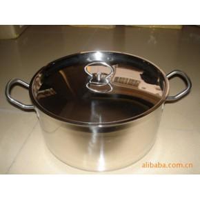 库存不锈钢汤锅