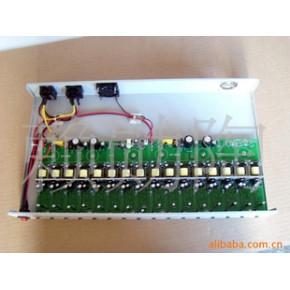 12.6V/2A*10(10组输出)3串锂电池充电器