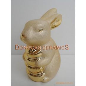 陶瓷兔子储蓄罐 东灿DONGCAN