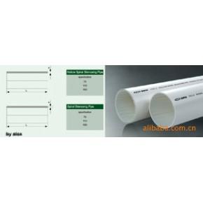PVC排水管+螺旋消音管