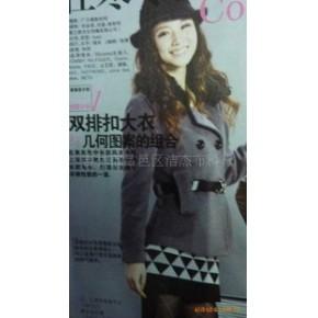 杰杰2010冬装上市韩版时尚羊绒半大衣