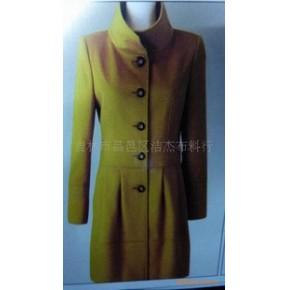 杰杰2010冬装立领羊绒大衣外套