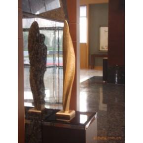 仿金树脂雕塑艺品,家居酒店摆设用品