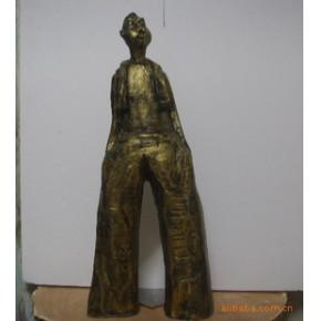 仿青铜树脂塑塑 家居酒店摆设用品