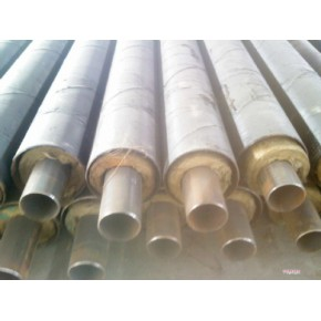 钢套钢直埋蒸汽保温钢管,小口径钢套钢直埋保温钢管产品