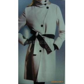 杰杰2010新款上市冬装羊绒休闲大衣