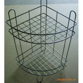 转角盘 肥皂盒 卫浴用品 双层置物架 三角篮 金属篮