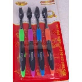 竹炭牙刷-保健-好用-舒适-健康-保护牙齿-批发竹炭牙刷-松正