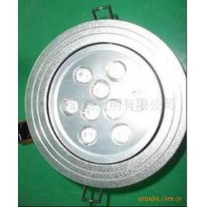 大功率LED 9×1 W  天花灯 LED灯具