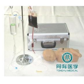 苏州同科高级硅胶婴儿头部及手臂静脉注射穿刺训练模型