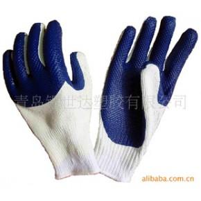 3/4高度防护贴胶手套 银世达