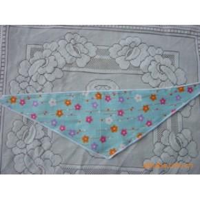 各色全棉印花宠物三角巾 领巾 100条起定 随机花型
