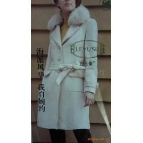 杰杰冬装新款上市2010时尚款羊绒大衣