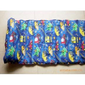 全棉印花布儿童床垫 旅行床垫 午休垫被