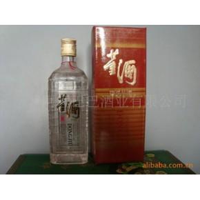95年54度水晶方瓶陈年老董酒