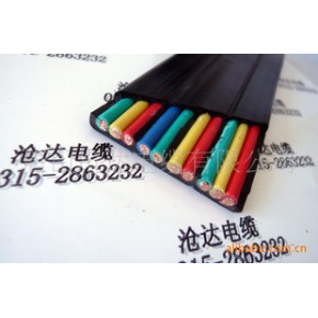 专业生产经销批发适用于冶金、起重、船舶、移动设备的丁腈扁电缆