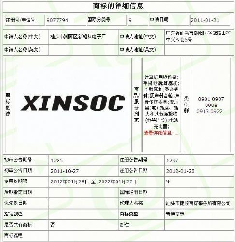 汕头市潮阳区新雄科电子厂