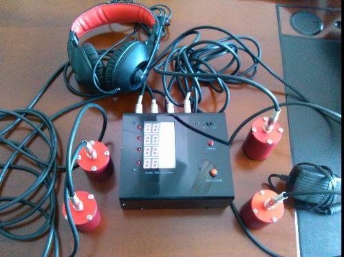自主声波震动音频生命探测仪