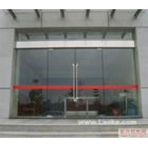 顺义区安装玻璃门 定做玻璃门隔断价格