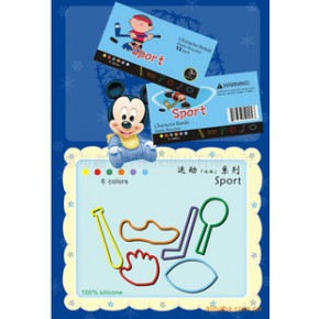 【】硅胶橡皮筋/卡通硅胶橡皮筋/冰球橡皮筋