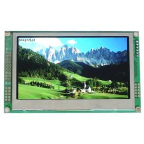 4.3寸TFT彩色液晶模块 51系列单片机 触摸屏 串口
