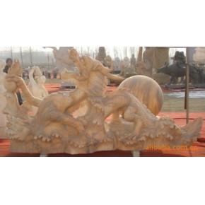 龙/雕塑/大理石/礼品/装饰