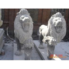 狮子/雕塑/大理石/礼品/装饰