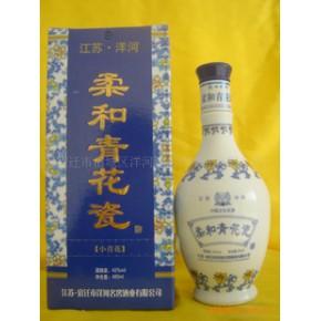 白酒代理;柔和青花瓷酒(1*6礼盒装)