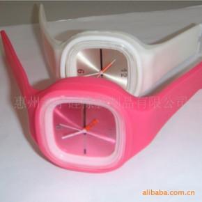 【加工定制】硅胶果冻手表/硅胶彩色手表/环保礼品手表