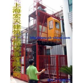 单笼施工电梯