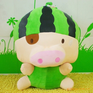 水果做的小动物造型小猪