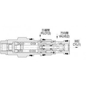 J-CBCA-I-L台湾久冈JeouGang引导式抗衡卸载阀