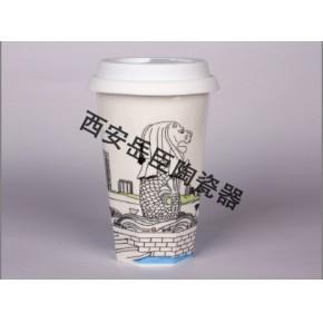 宝鸡星巴克咖啡杯批发订制