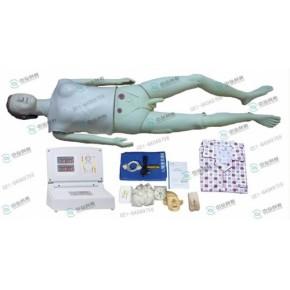 心肺复苏与男女性导尿功能一体模拟人、心肺复苏操作模拟人