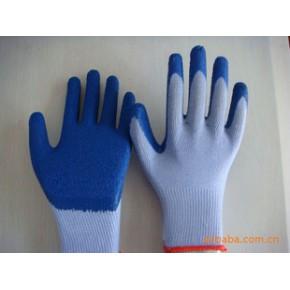 纱线浸胶手套  劳保手套  防护手套