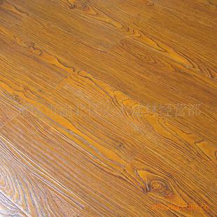 【壹木居强化木地板/复合木地板/超耐磨真木纹仿古】